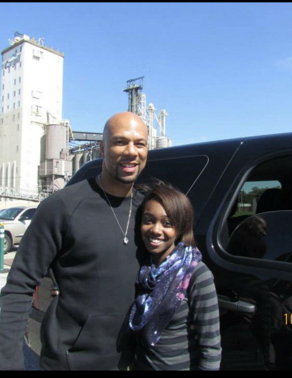 Movie star, rapper, activist Common and Gabrielle our foundation member and The Total Plug tv host